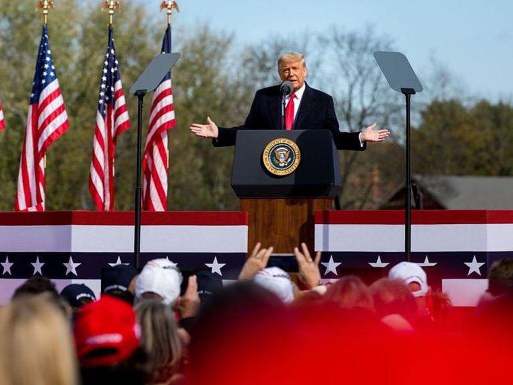 Pengangguran di AS Naik Jelang Akhir Masa Jabatan Donald Trump