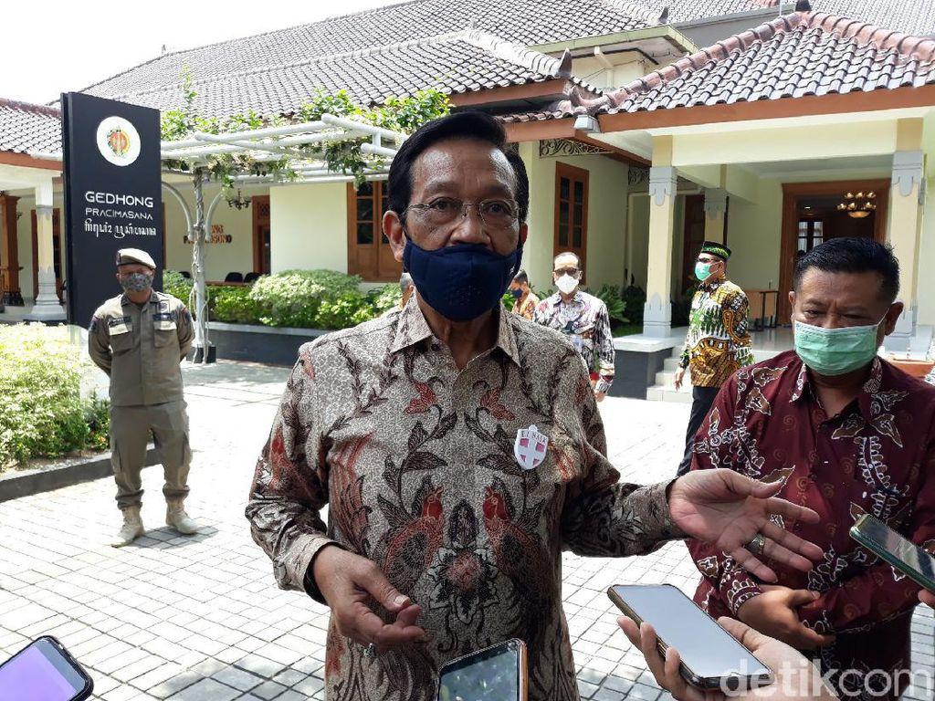 Corona di Yogya Lagi-lagi Pecah Rekor, Sultan: Perketat Desa-desa!