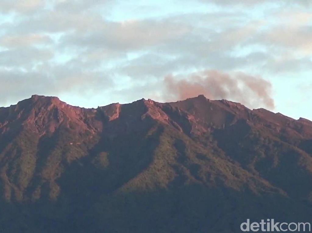 PVMBG Evaluasi Status Waspada Gunung Raung