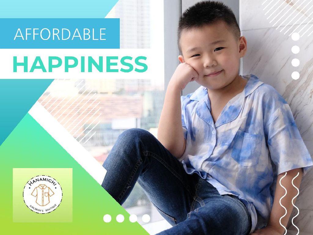 Hanamichi Kids, Bikin Anak Tampil Lebih Keren dan Stylish