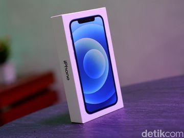 Unboxing iPhone 12 Biru Harga Rp 20 Jutaan