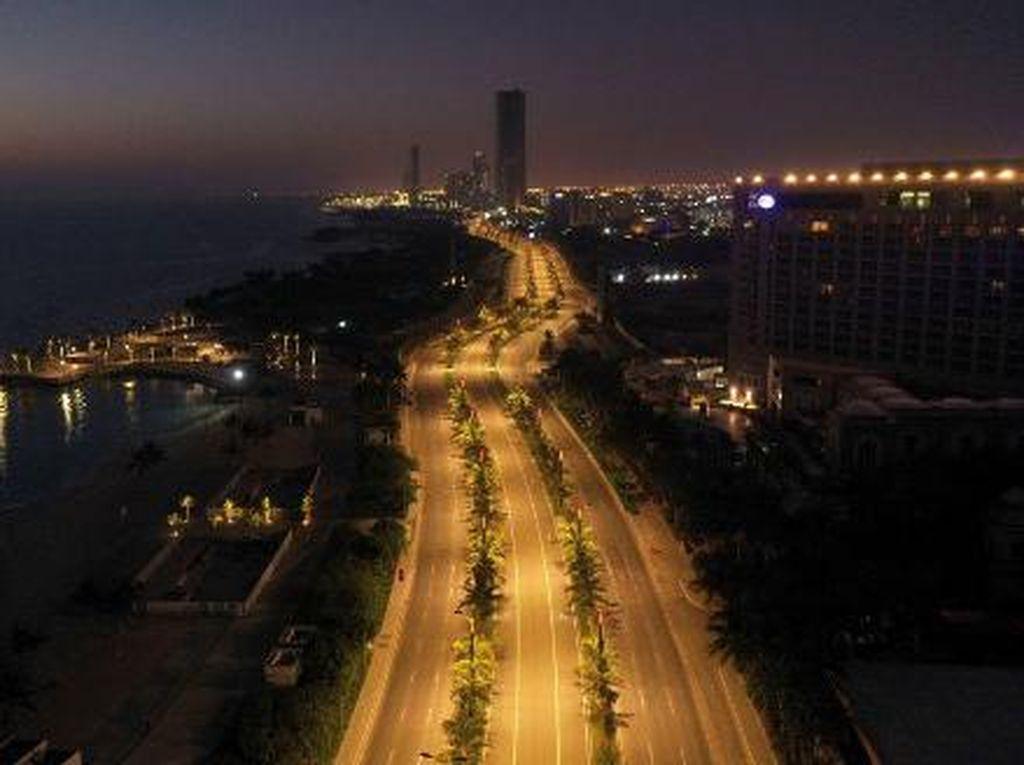 Suasana Terkini Ledakan di Kota Jeddah