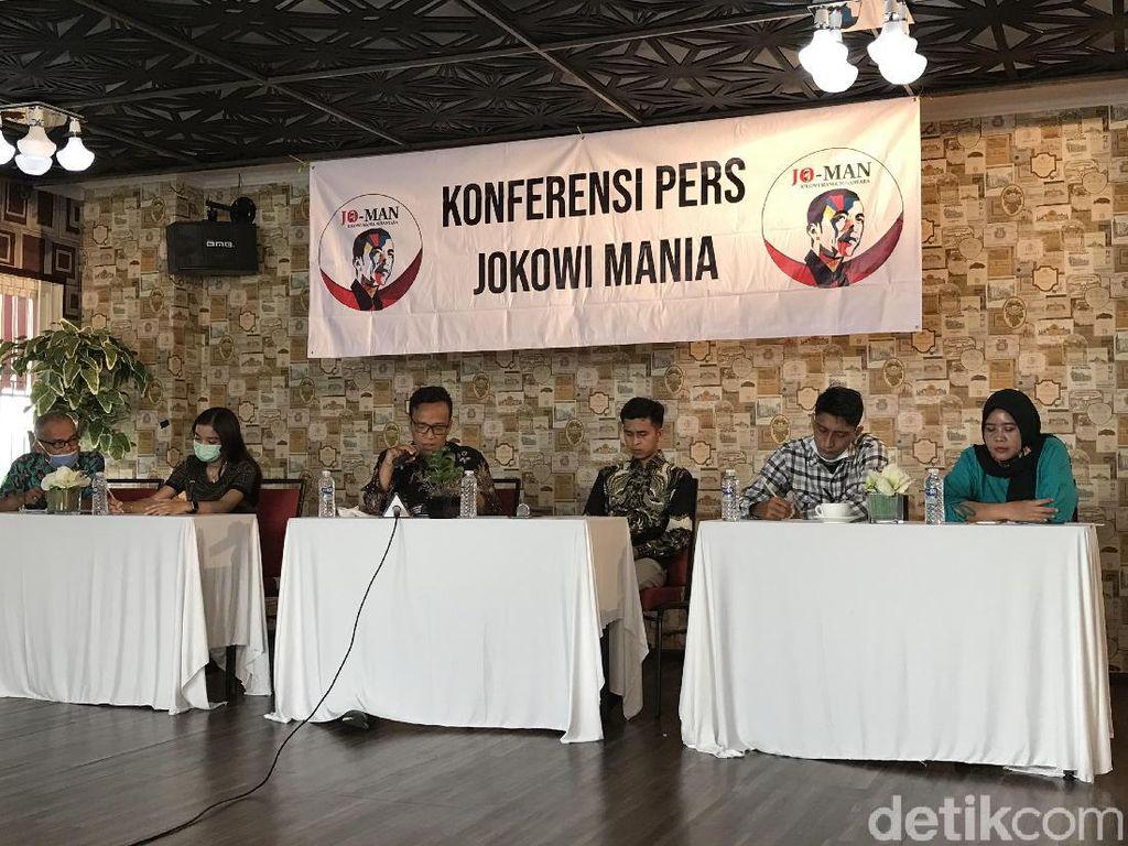 Gelar Jumpa Pers, Relawan Jokowi Mania Minta 10 Menteri Diganti