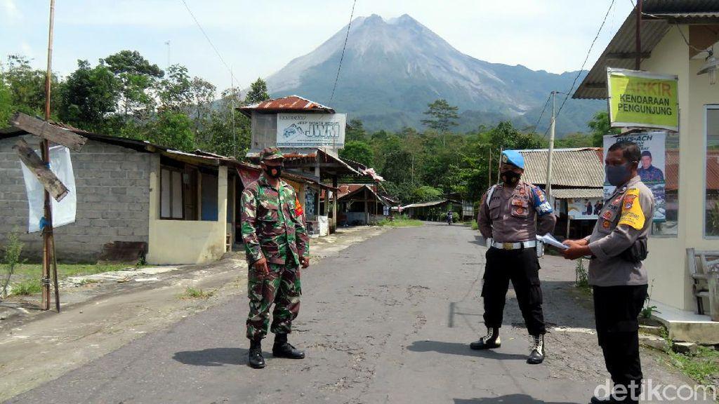 Kawasan Wisata Merapi Dijaga Ketat TNI-Polri