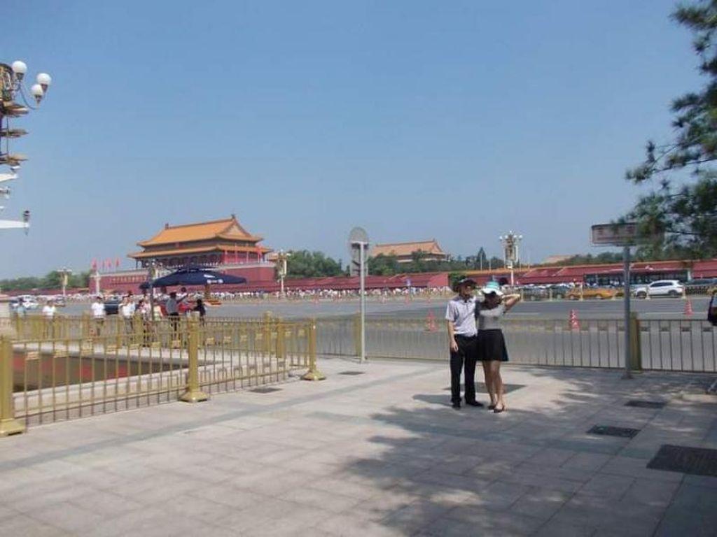 Foto: Sisi Lain Lapangan Tiananmen di Beijing