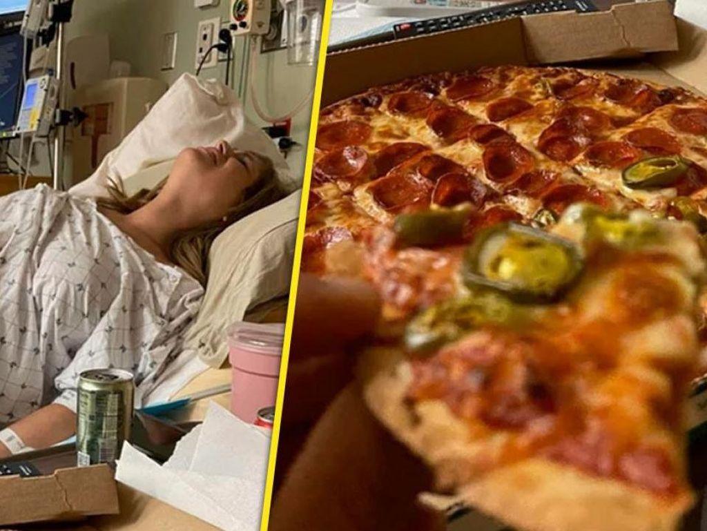 Makan Pizza di Depan Istri yang Sedang Lahiran, Pria Ini Dikritik Netizen