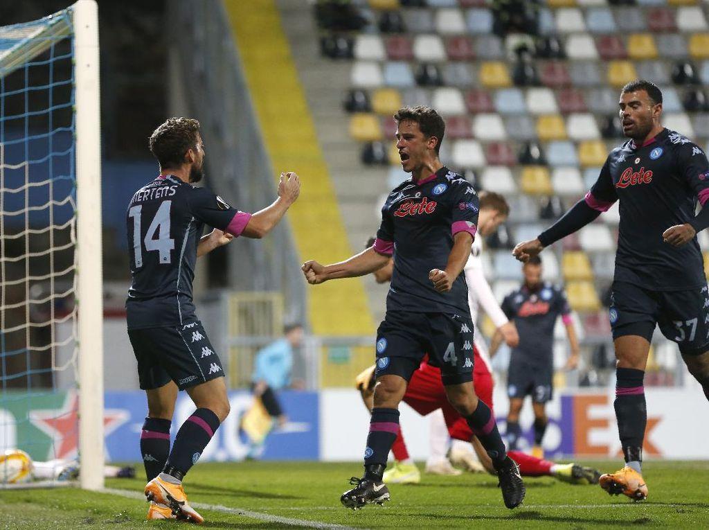 Rijeka Vs Napoli: Il Partenopei Menang 2-1 Meski Tertinggal Lebih Dulu