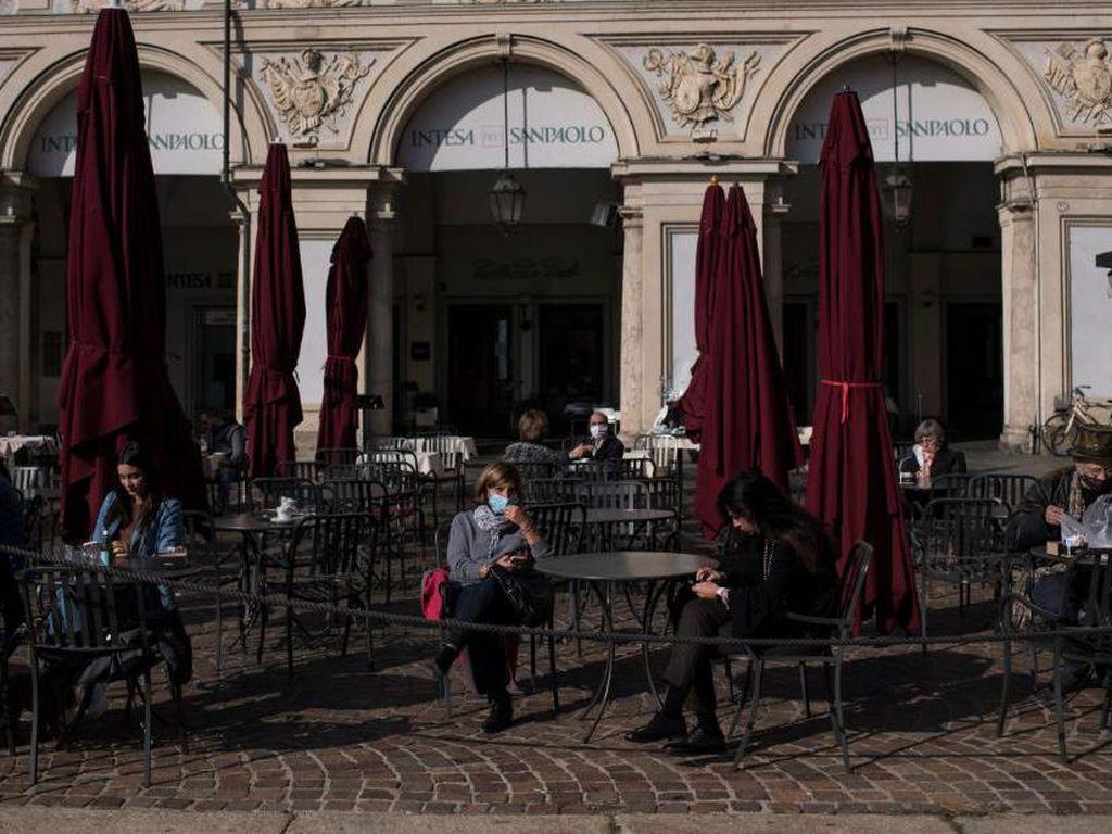 Gelombang Kedua COVID-19, Italia-Prancis Lockdown dan Ada Jam Malam