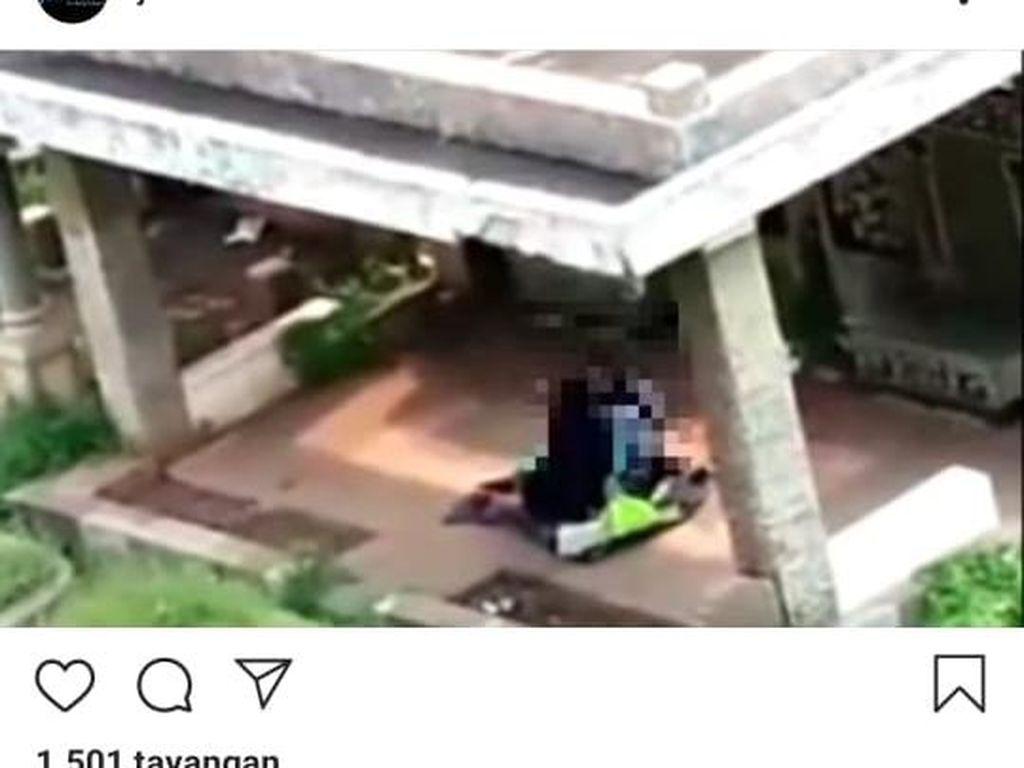 Viral Pasangan Mesum di Kuburan Jatinegara Jaktim, Polisi Turun Tangan
