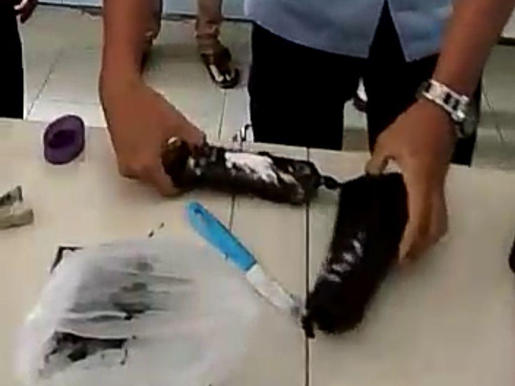 2 Pembesuk di Rutan Ponorogo Selundupkan Pil Koplo dalam Botol Sampo