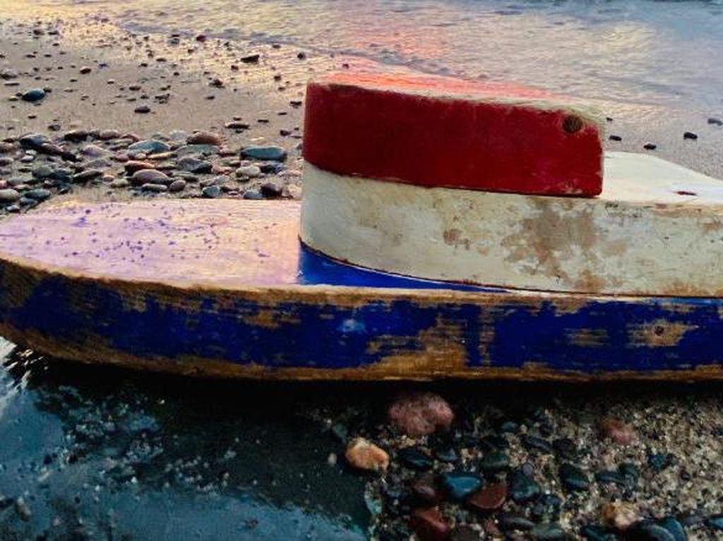 27 Tahun Dilarung, Perahu Kecil Ini Kembali Ditemukan