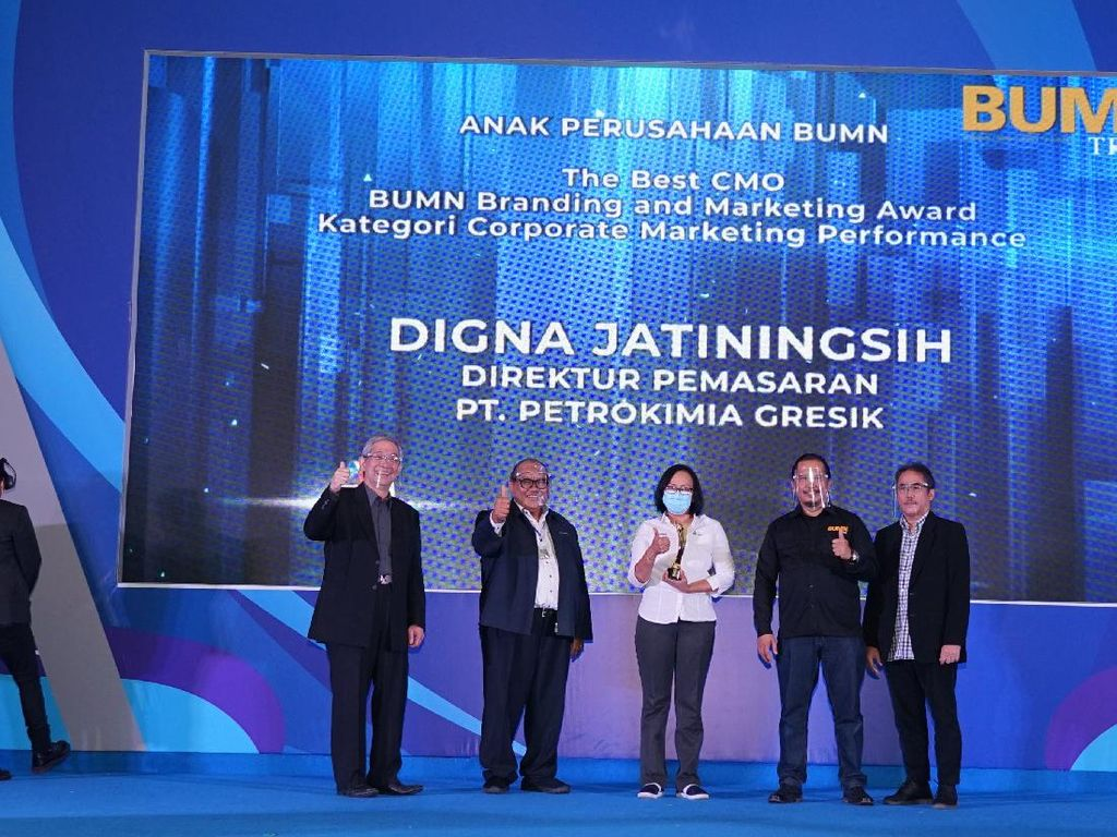 Petrokimia Gresik Raih 2 Penghargaan di Ajang BBMA 2020