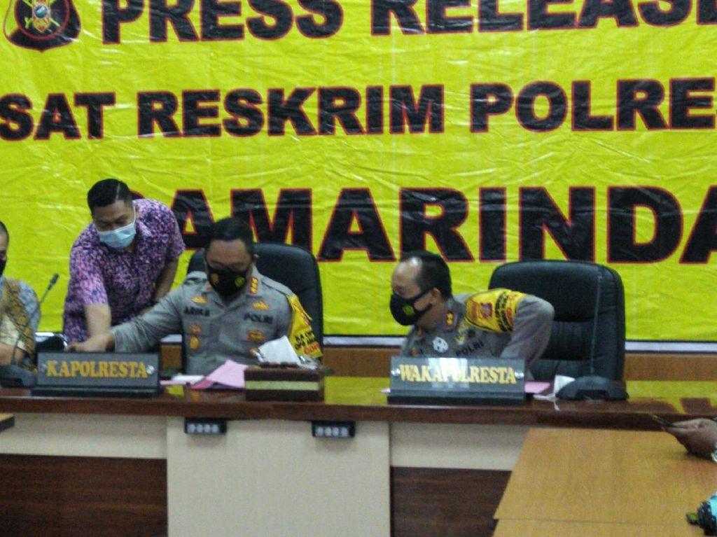 Polisi Amankan 9 Mahasiswa Buntut Rusuh di DPRD Kaltim, 2 Jadi Tersangka