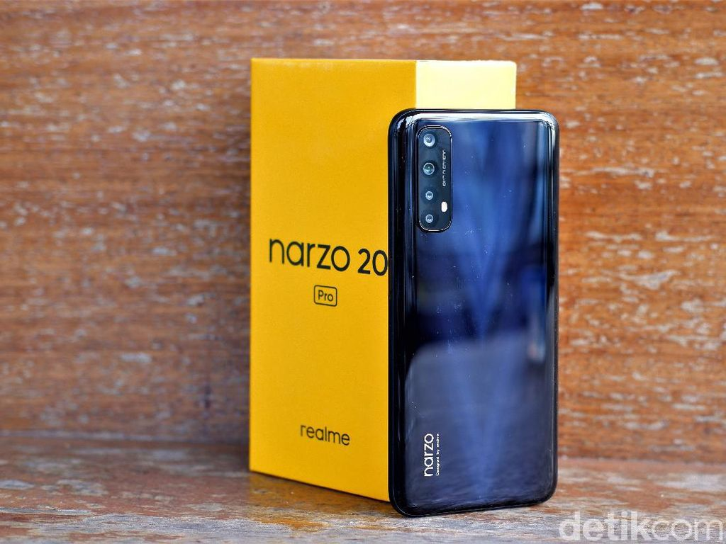 Review Realme Narzo 20 Pro, Asik untuk Ngegame