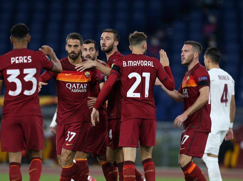 Roma Vs Cluj: Giallorossi Pesta Gol 5-0