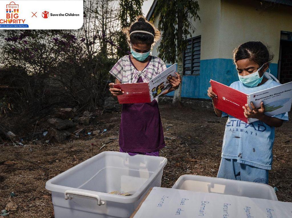 Peduli Pendidikan, Shopee Galang Dana Bantu Anak-anak Indonesia