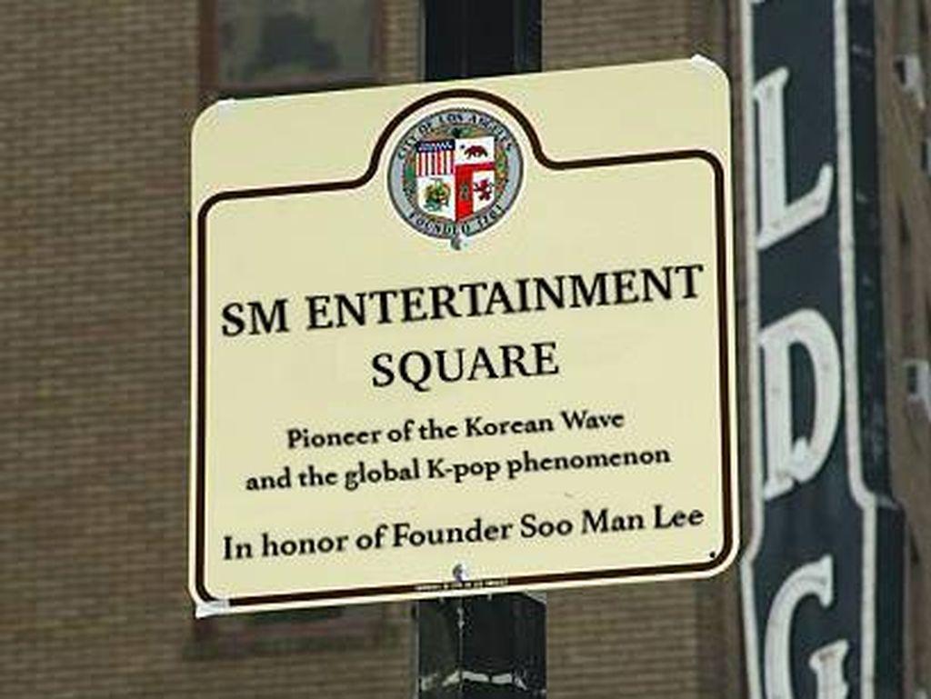 SM Entertainment Square Bakal Hadir di Los Angeles