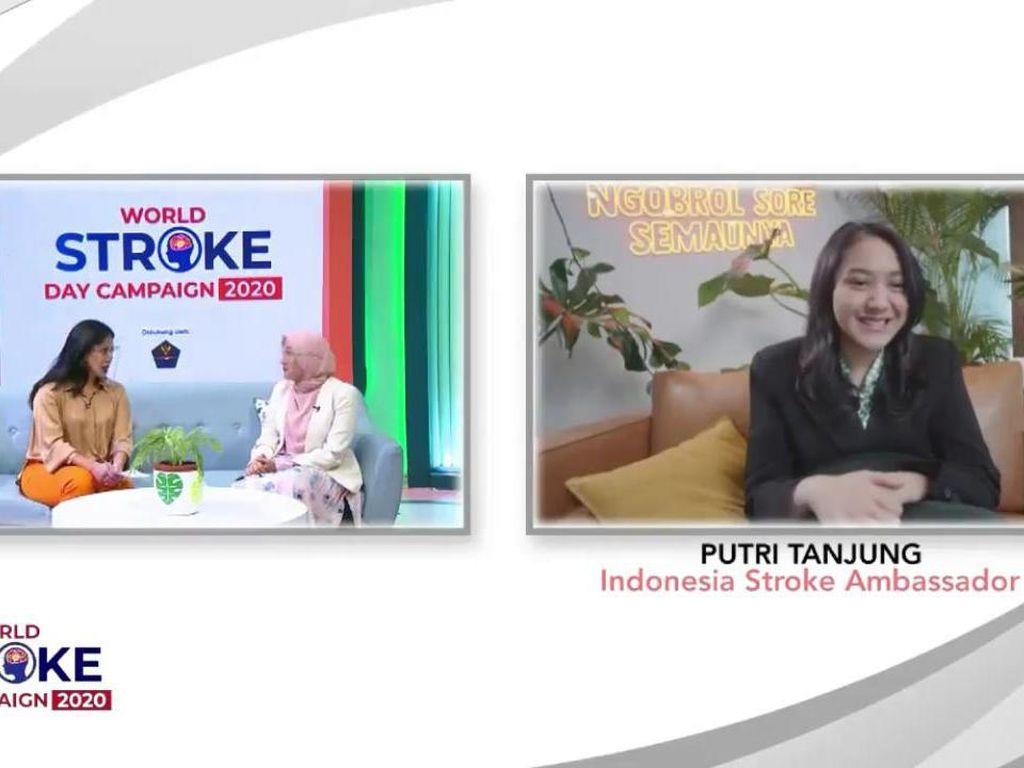 Cegah Stroke Sejak Dini, Simak Tips Hidup Sehat ala Putri Tanjung!