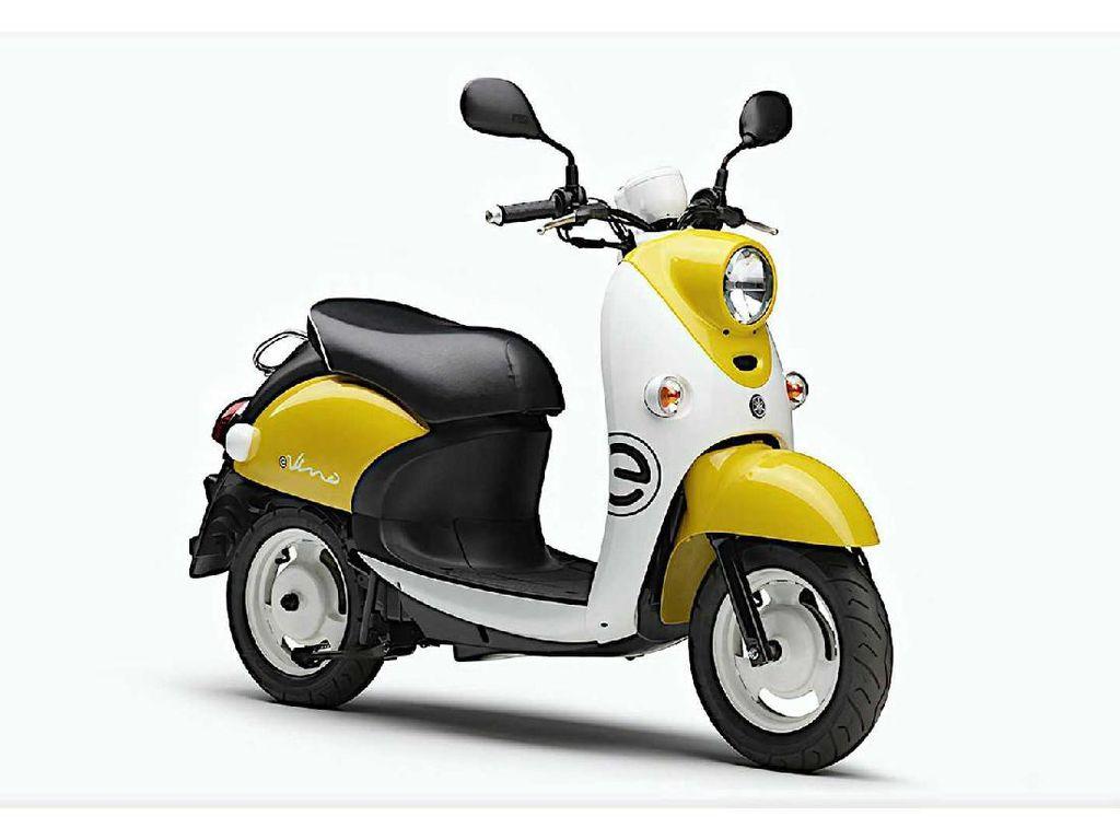 Skuter Listrik Imut Yamaha E-Vino Resmi Dijual, Harga Rp 36 Juta