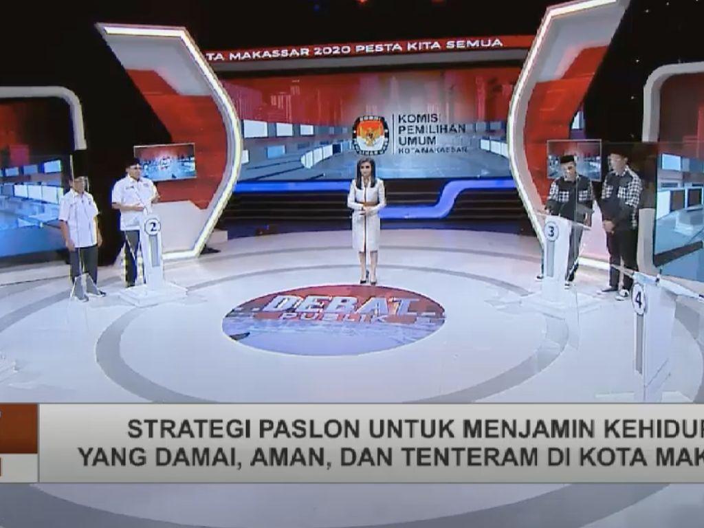 Polemik Lokasi Debat Kedua Pilwalkot Makassar Usai Pendukung Ditusuk
