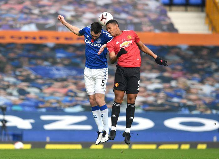Manchester United Unggul 2 1 Dari Everton Di Babak Pertama