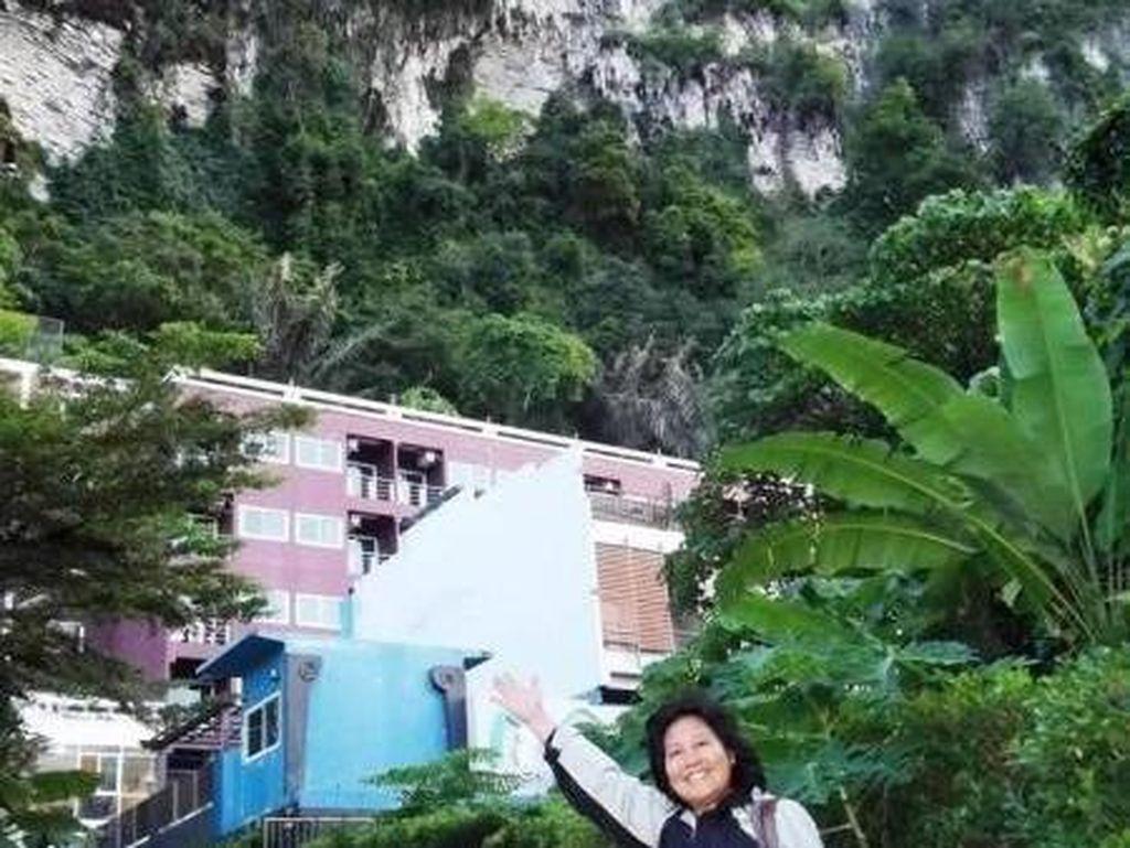 Menginap di Gunung Batu Cadas Ao Nang Krabi