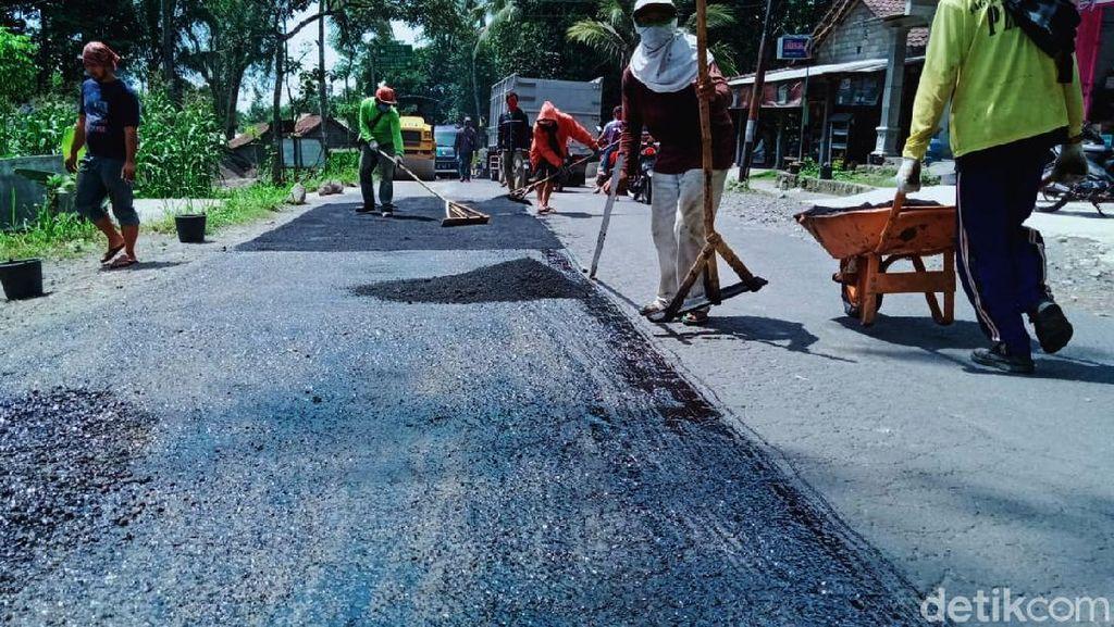 Jalur Evakuasi Pengungsi Gunung Merapi Diperbaiki