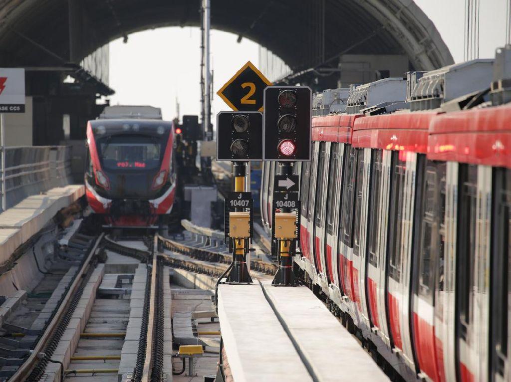 LRT Jabodebek Keluar Kandang Lagi, Kali Ini Ngapain?