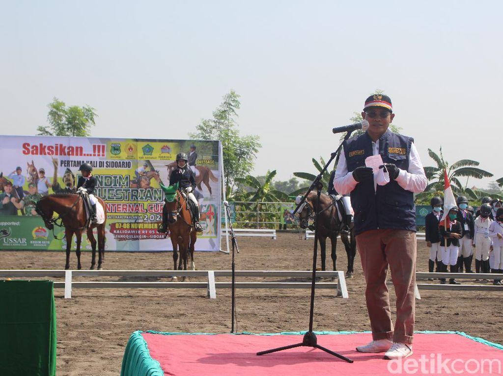 50 Atlet Berkuda Berlomba di Event Dandim Equestrian Yussar Internal Cup 2020