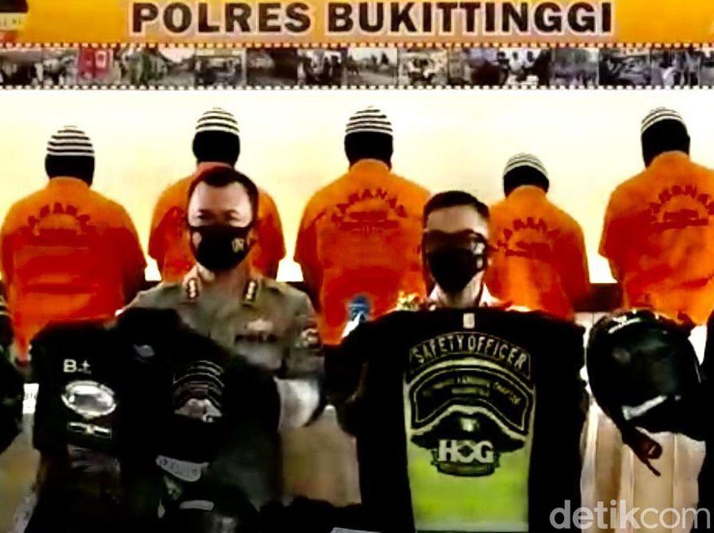 Polisi Limpahkan Berkas Kasus 5 Anggota Moge Harley Pengeroyok TNI ke Jaksa