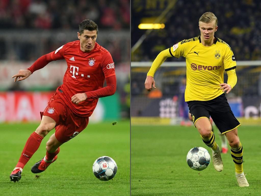 Haaland dan Lewandowski di Dortmund Vs Bayern: Siapa Lebih Tajam?
