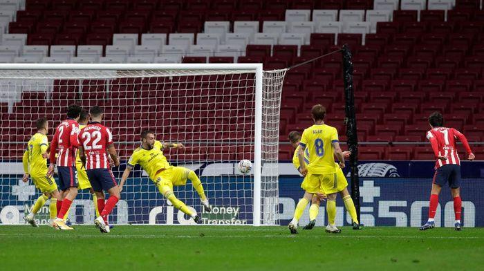 Atletico Vs Cadiz: Menang 4-0, Los Colchoneros ke Puncak Klasemen