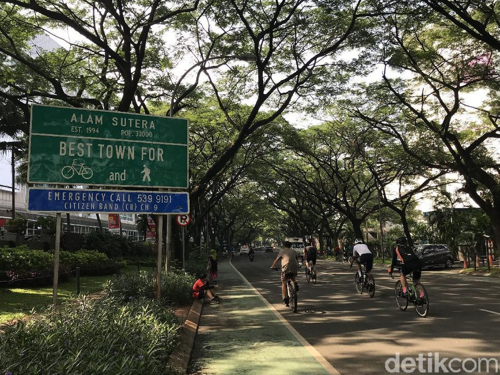 5 Jalur Sepeda yang Hits di Tangerang Selatan dan Sekitarnya