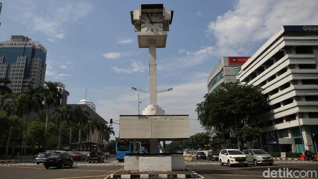 Ada Proyek MRT Fase 2, Tugu Jam Thamrin Akan Direlokasi