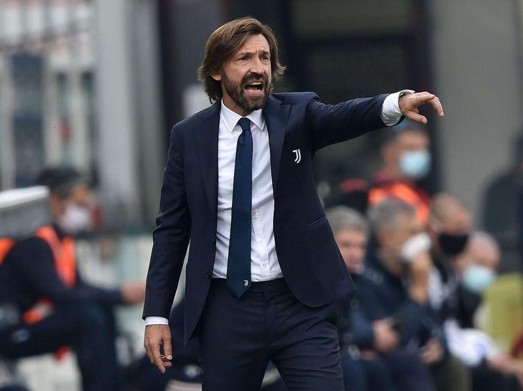 Geramnya Pirlo Melihat Juventus Dibobol Lazio di Menit Akhir