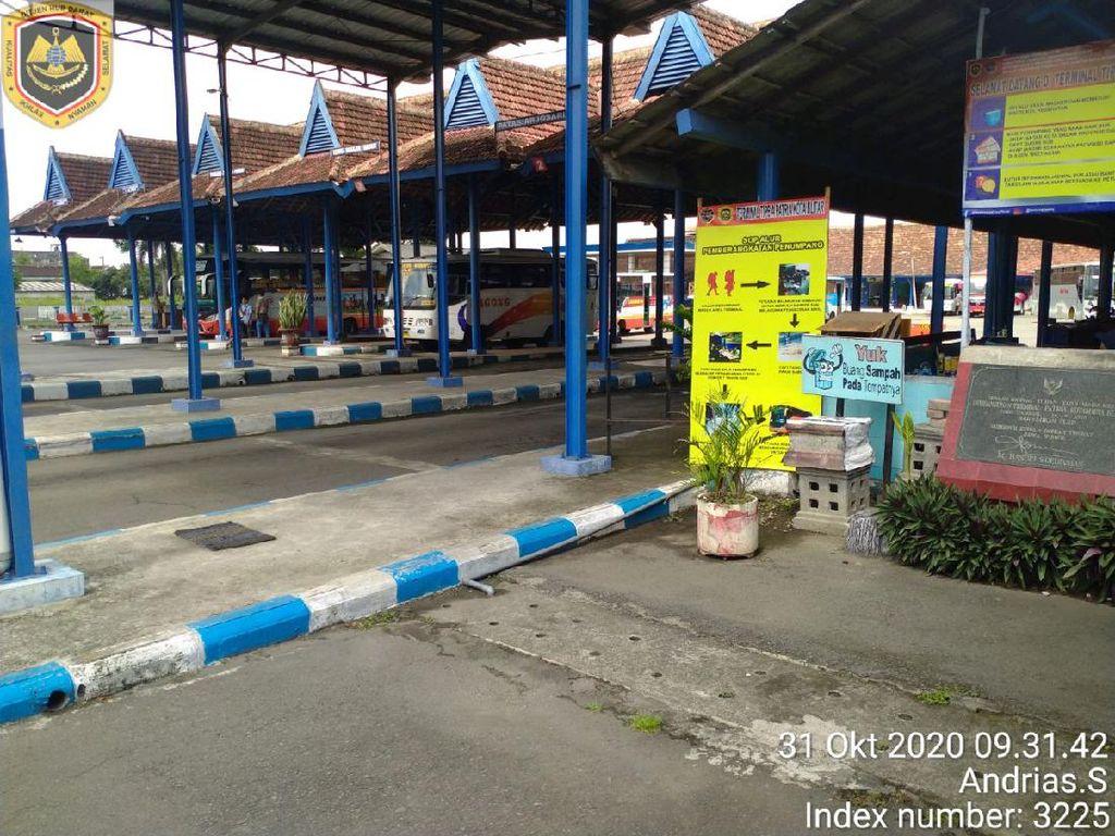 Seorang ASN di Terminal Patria Kota Blitar Positif COVID-19