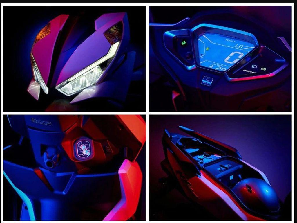 Potret Honda NX125, Skutik Baru yang Mirip Vario Series