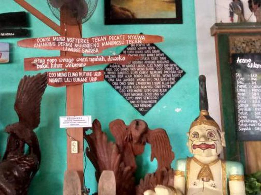 Foto: Restoran Serba Wayang Ada di Sidoarjo