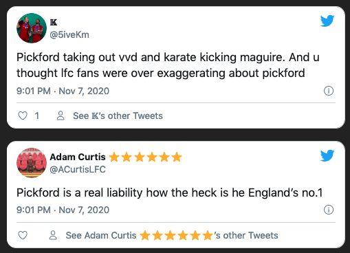 Jordan Pickford, Harry Maguire
