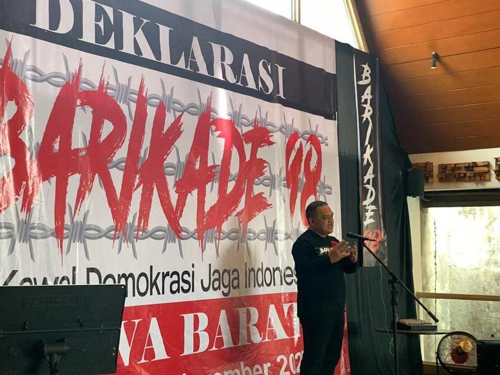 Barikade 98 Ungkap Ada Pihak yang Coba Ganggu Pemerintahan Jokowi