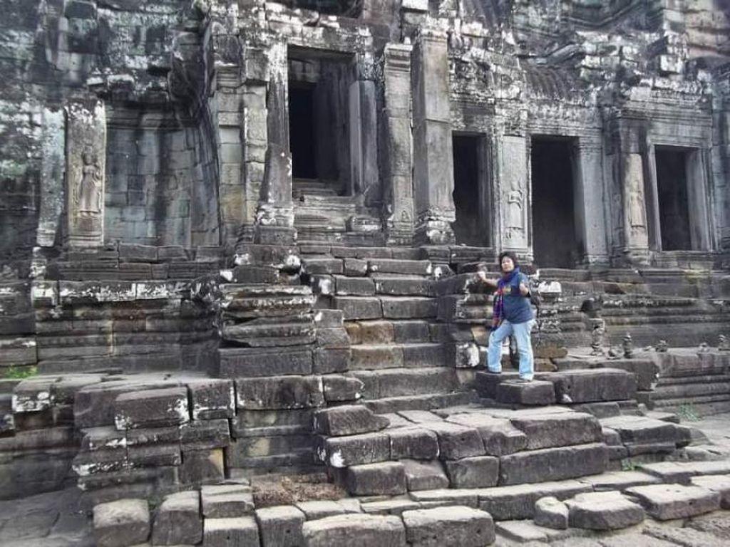 Foto: Bayon Temple, Kuil Eksotis dari Kamboja