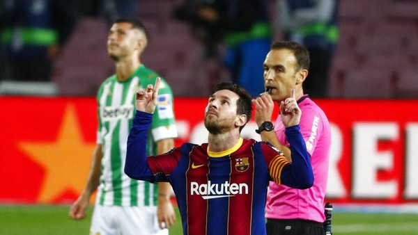 Barcelona Vs Betis Blaugrana Tumpul Tanpa Messi