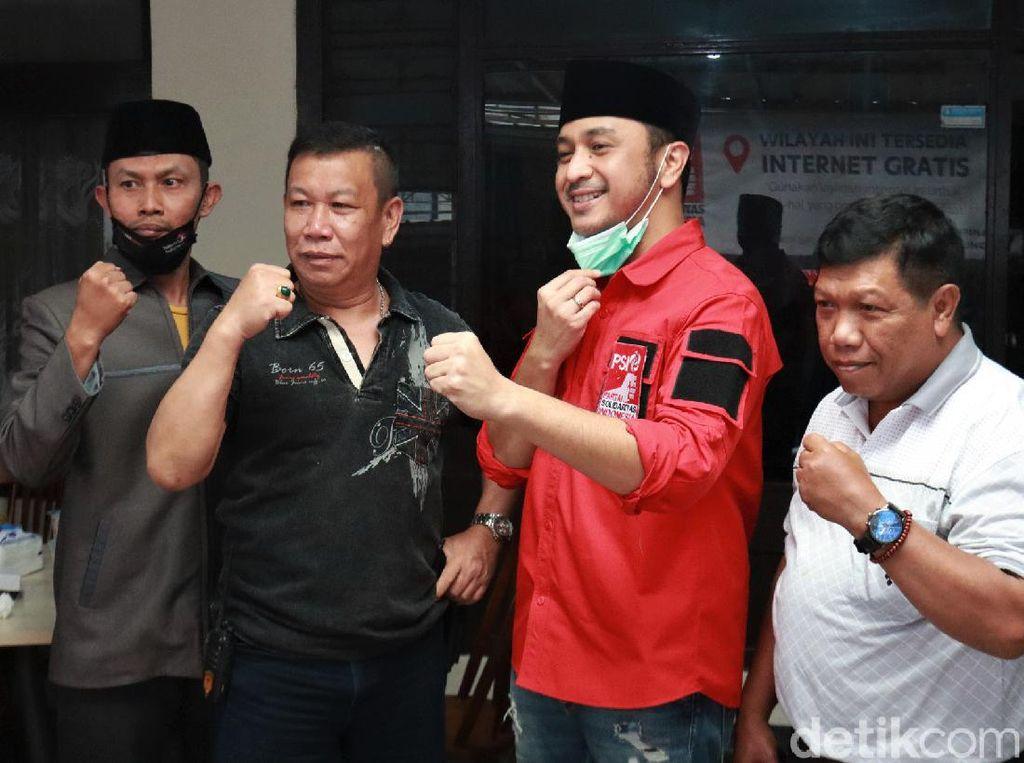 Momen Giring Kunjungi Kantor DPW PSI Jabar di Bandung