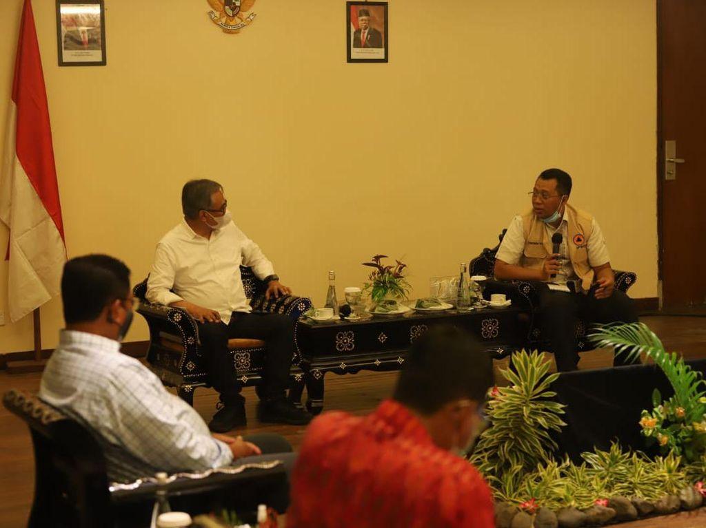 OJK, Bank Mandiri & BPD NTB Syariah Siap Bantu Pemulihan Ekonomi NTB