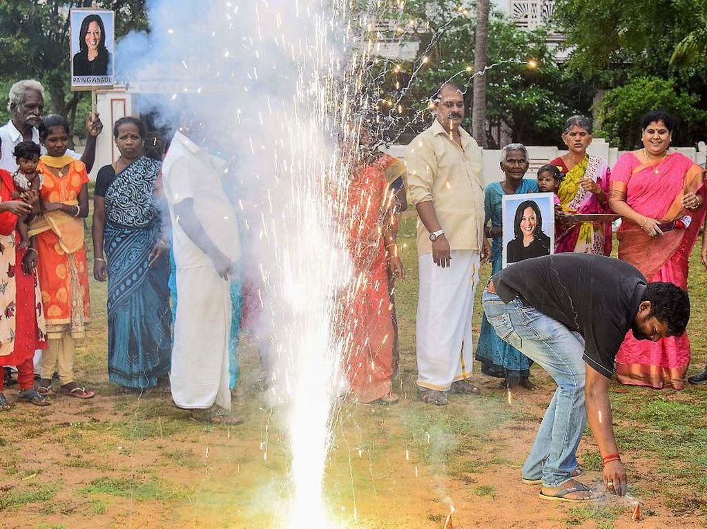 Diwali Tiba Lebih Awal di Kampung Leluhur Wapres AS Terpilih Kamala Harris