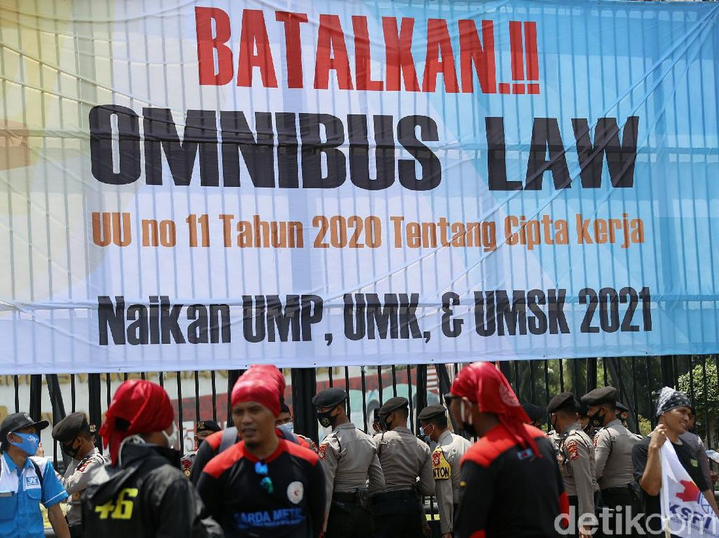 Jelang Demo di DPR-Patung Kuda, 6.000 Polisi Disiagakan