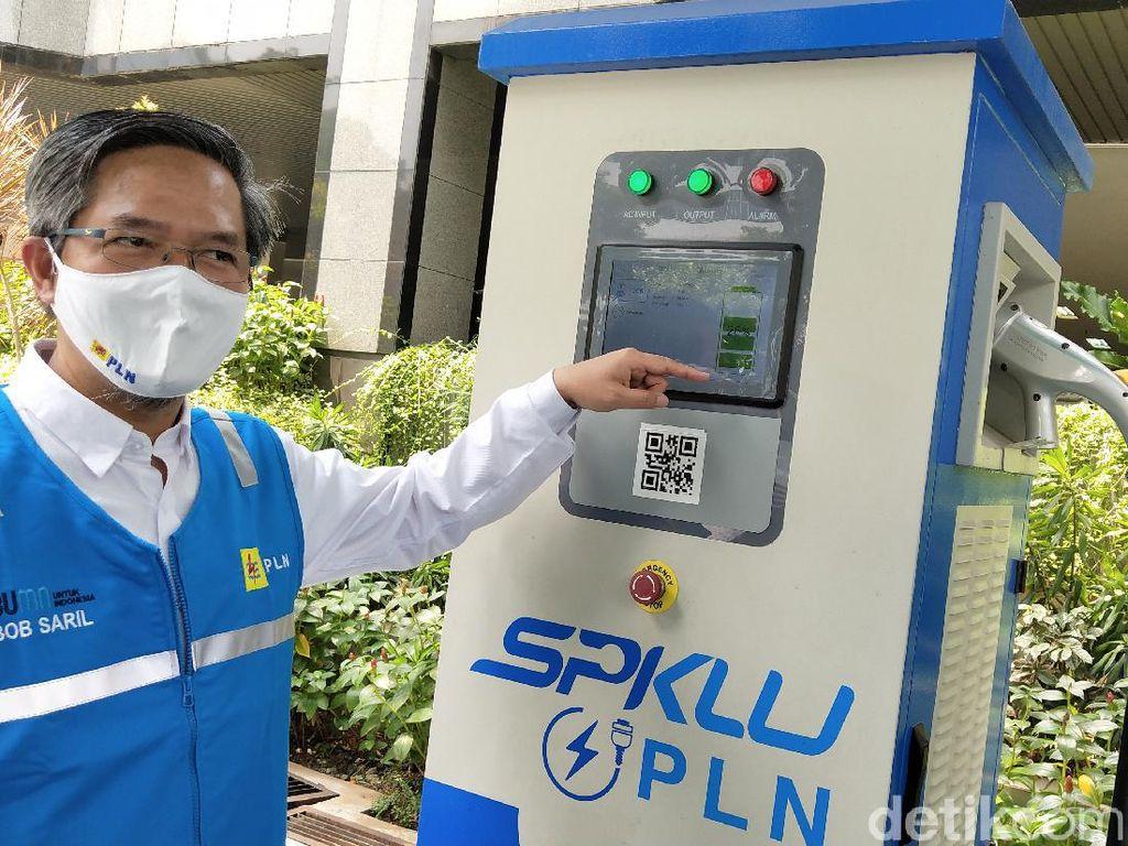 PLN Tambah 4 SPKLU di Ruas Tol Surabaya-Jakarta