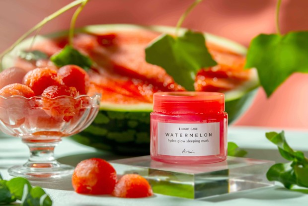 Ariul Watermelon Hydro Glow Sleeping Mask/Dok. Ariul