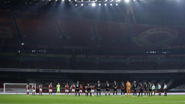 Arsenal tampil melempem di kandang sendiri. The Gunners dikalahkan Aston Villa dengan skor 0-3.