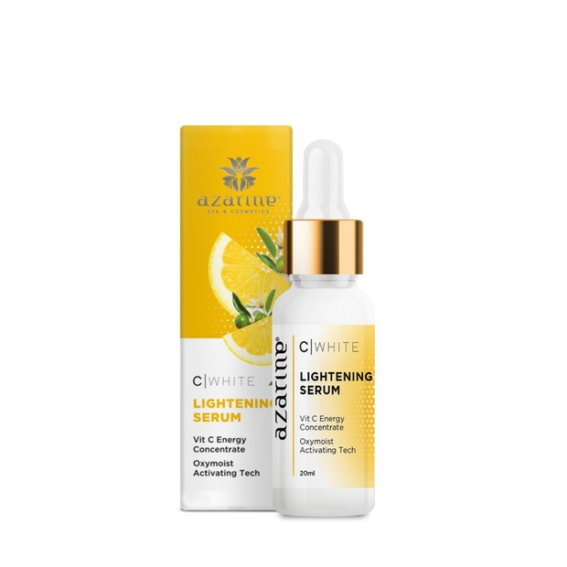 Azarine C White Lightening Serum bisa membuat kulit terasa lembap ternutrisi/shoope.co.id